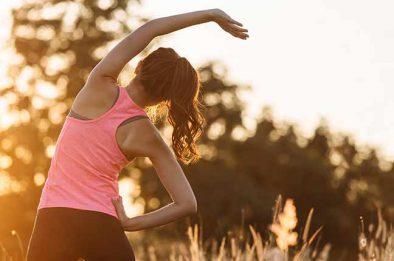 preparativos para atividade físicas